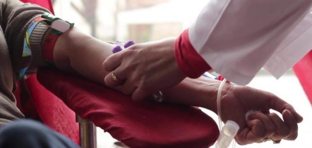 فوائد التبرّع بالدم للتبرّع :